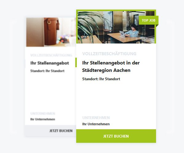 Stellenanzeigen Feature: Top-Job
